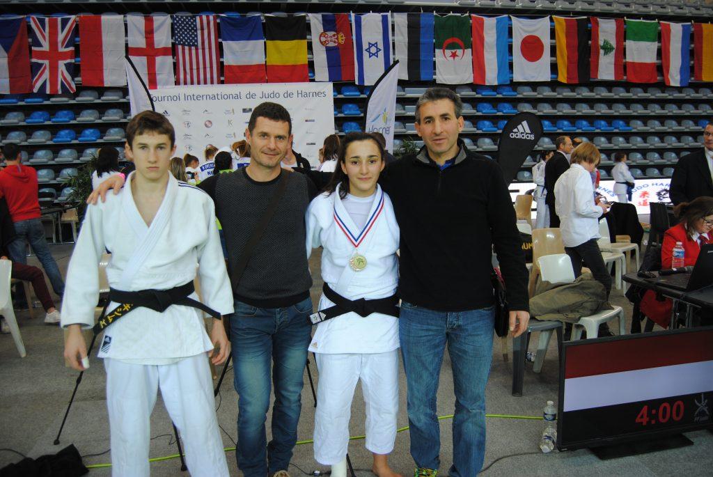 Tournoi internationale Cadet(te) de Harnes: Siham 3ème