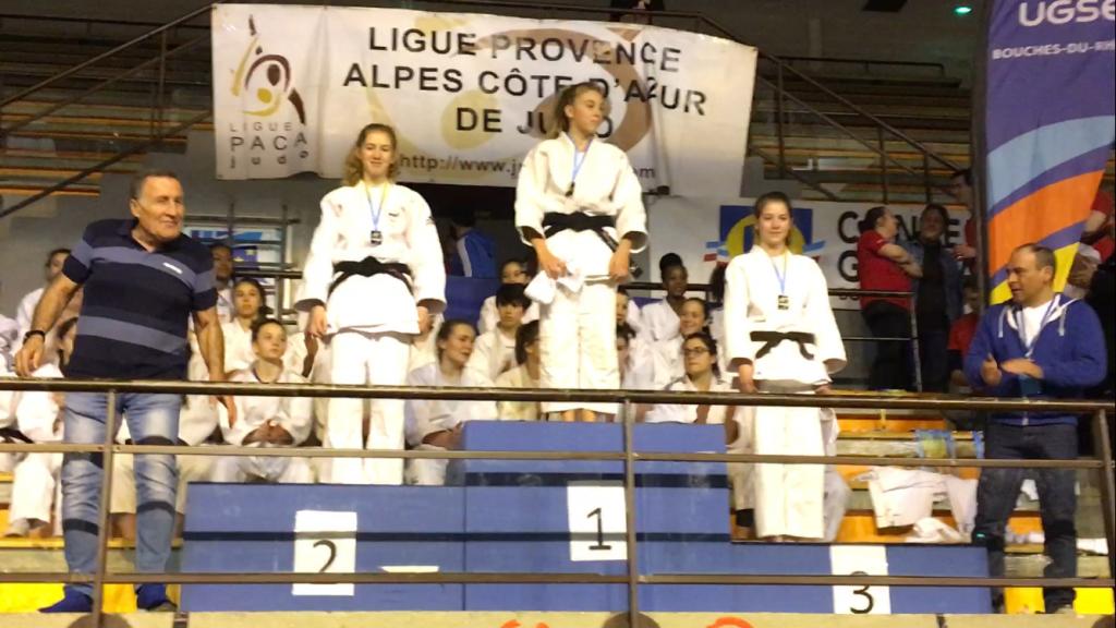 Championnat de France scolaire UGSEL: Marguerite en OR