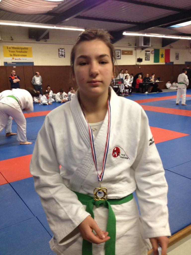District minime: 4 médailles dont l'Or pour Justine Faivre