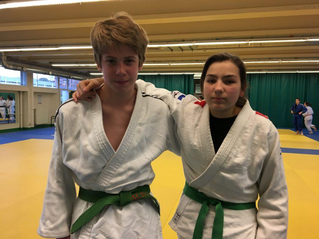 Championnat du Nord Minime: Mathis et Justine en Bronze