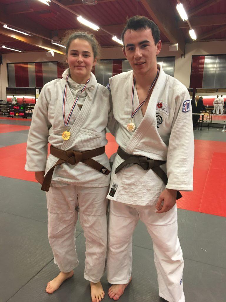 Alexis vice champion des Hauts de France scolaire UGSEL