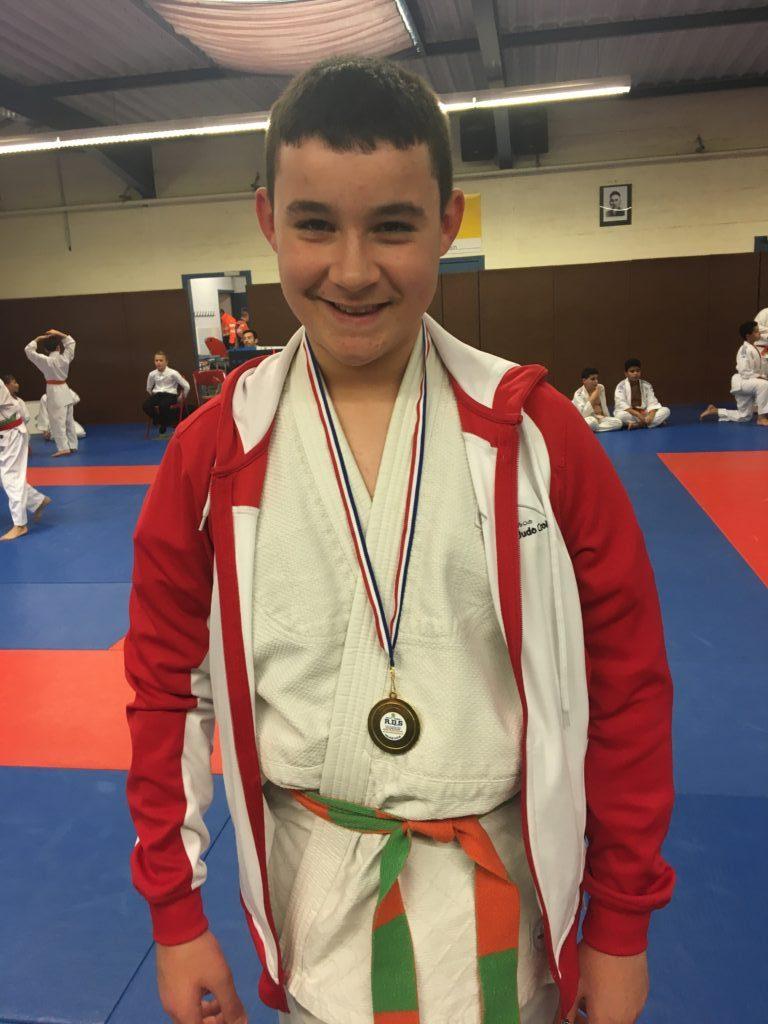 Mehdi Levèque champion du district benjamin
