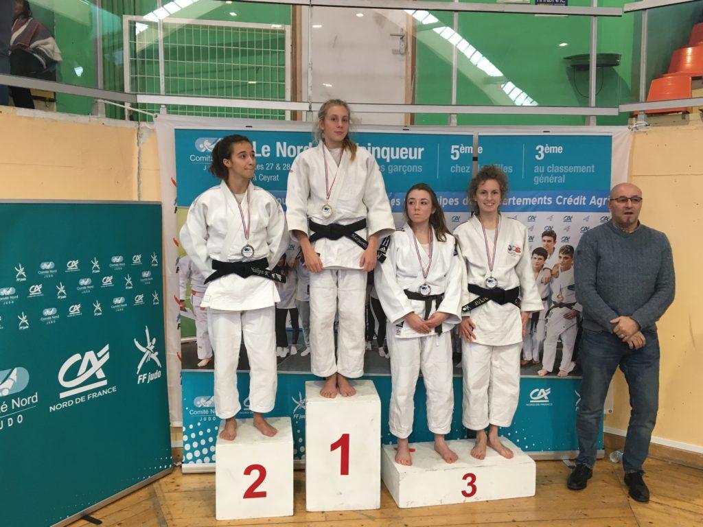 L'or et le bronze au championnat du Nord junior !