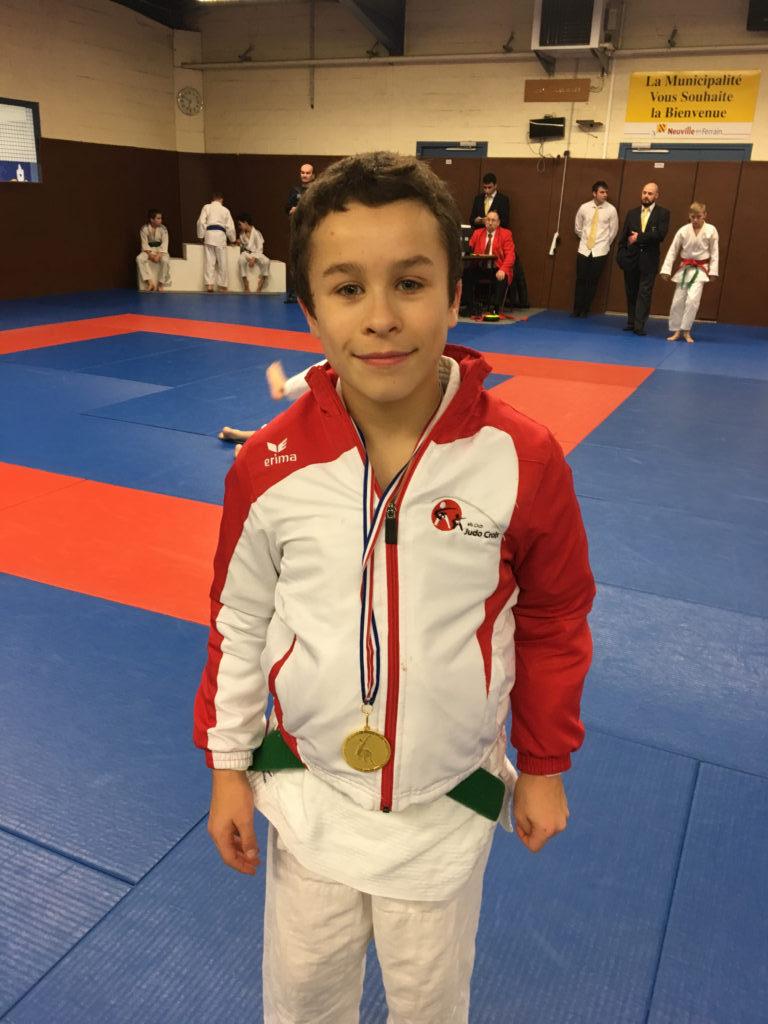 Oscar Derossi remporte la Coupe du Nord du jeune arbitre !