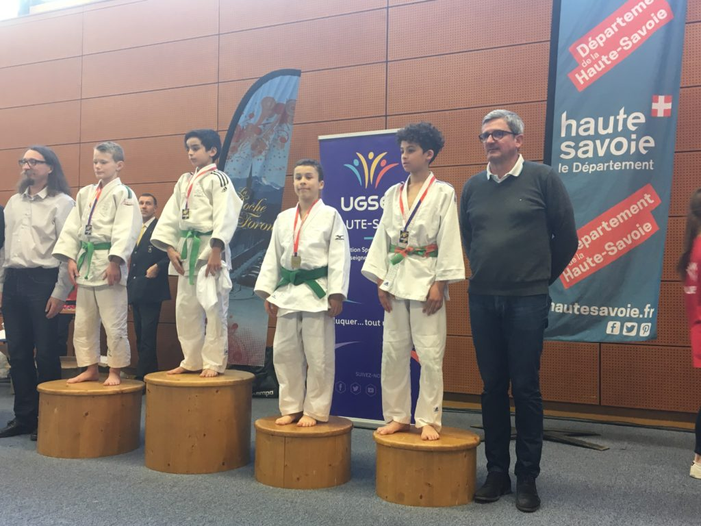 Championnat de France scolaire UGSEL: Oscar Derossi médaille de bronze