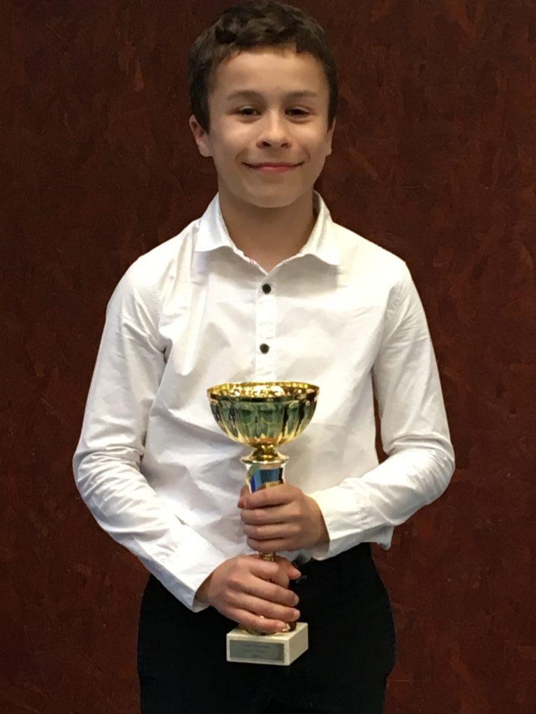 Oscar Derossi 2nd à la coupe régional d'arbitrage !