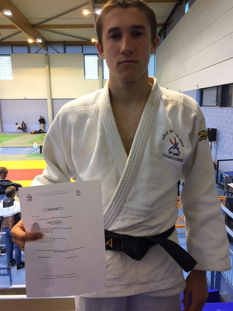 Maxime DEROSSI 3ème au championnat régional Universitaire