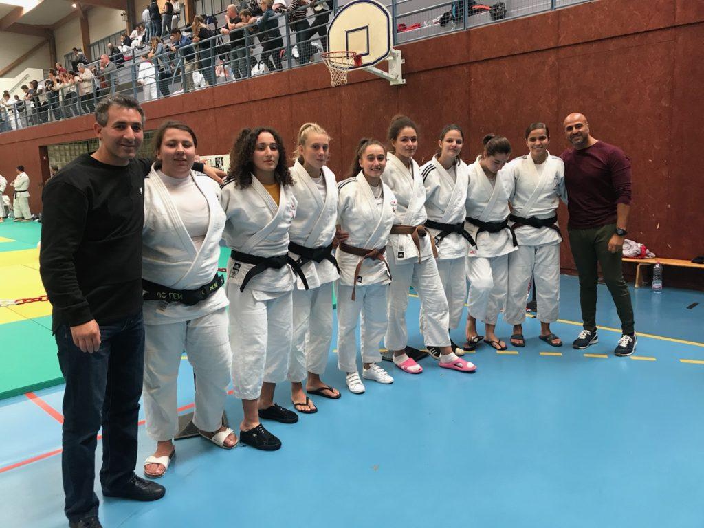 Championnat des HDF par équipe junior: Les filles 3ème !