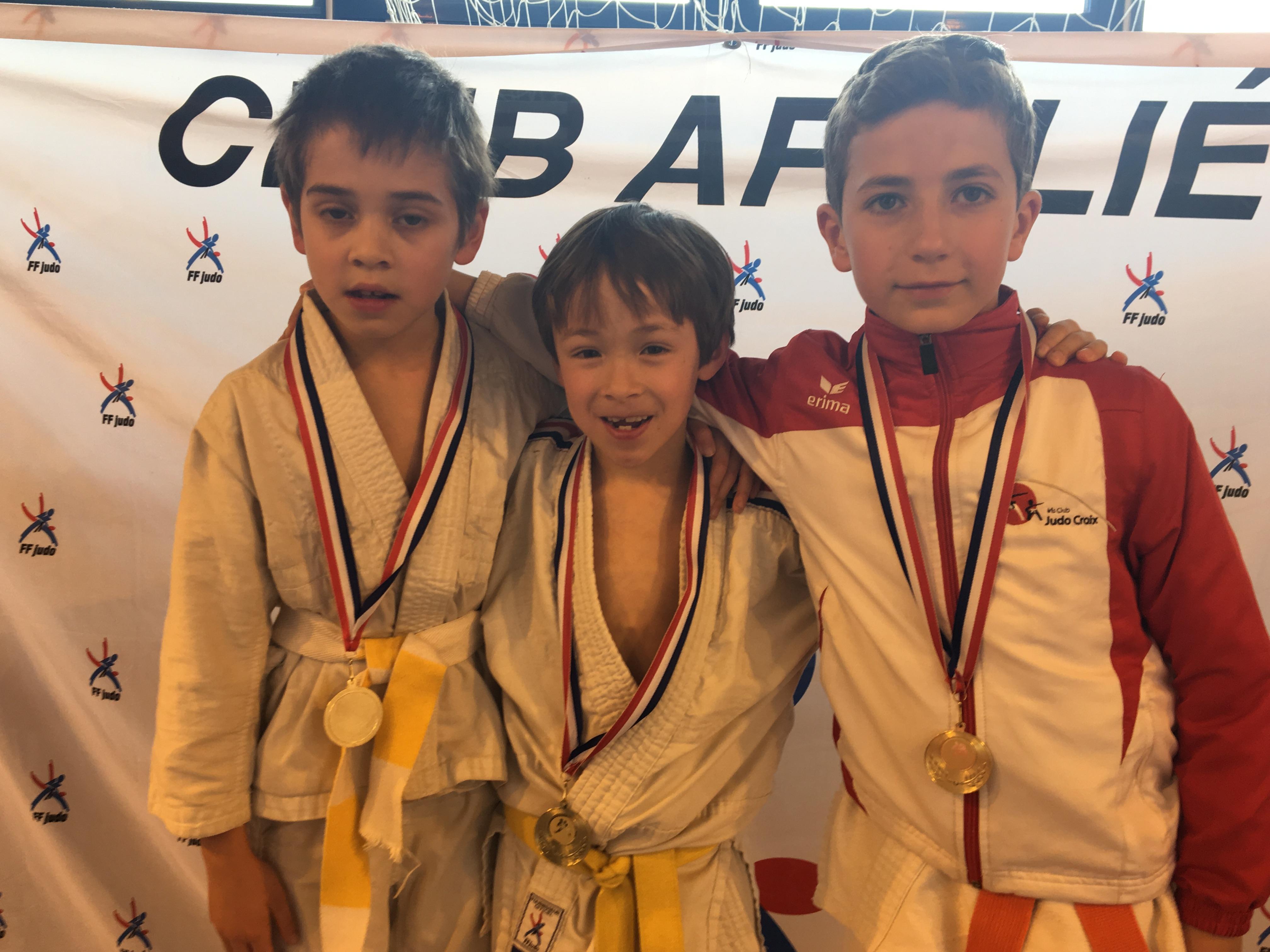 Nos judokas au top à Fournes en weppe