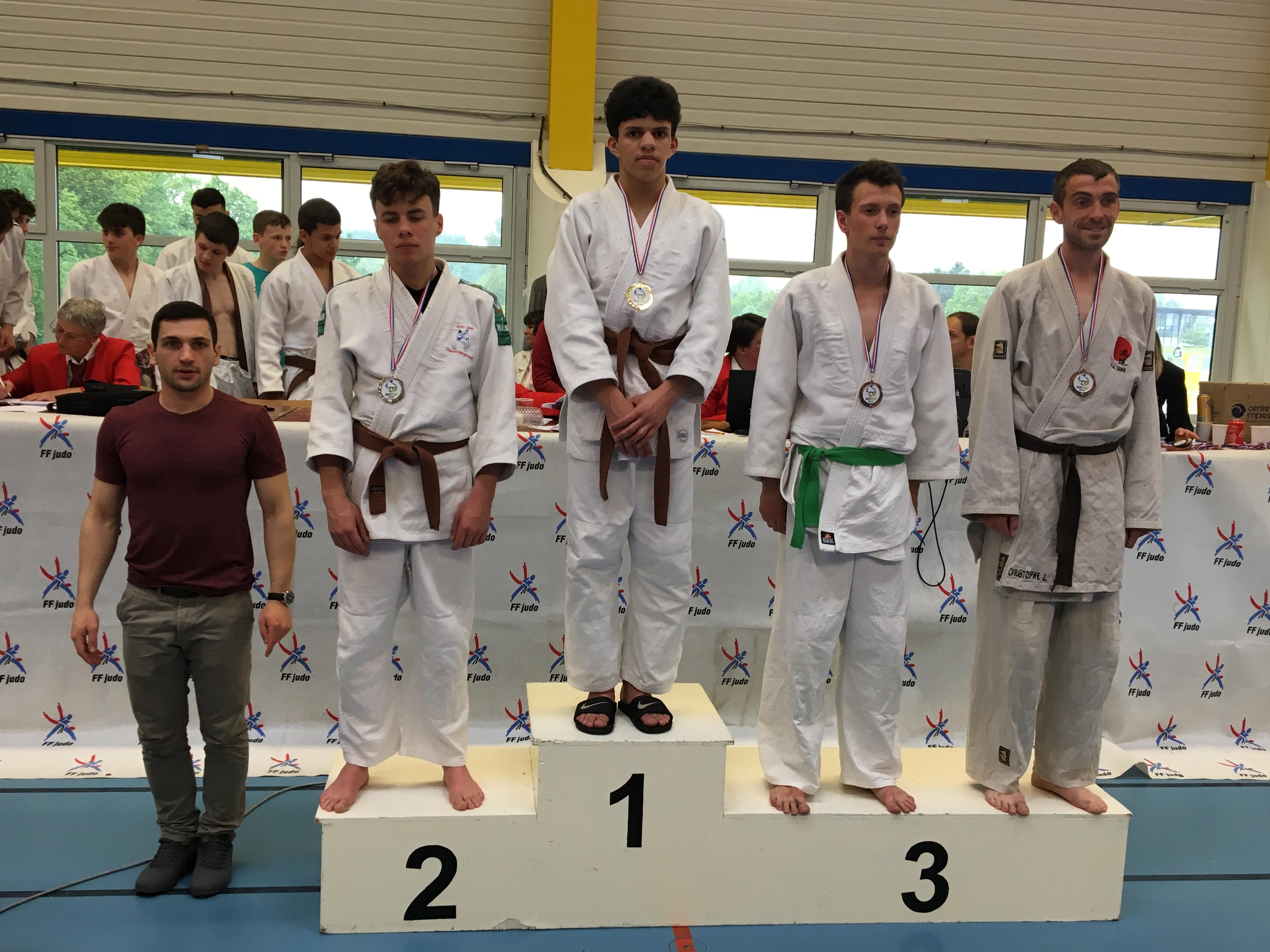 Championnat régional ceintures de couleur: Une médaille d'or pour Kadour