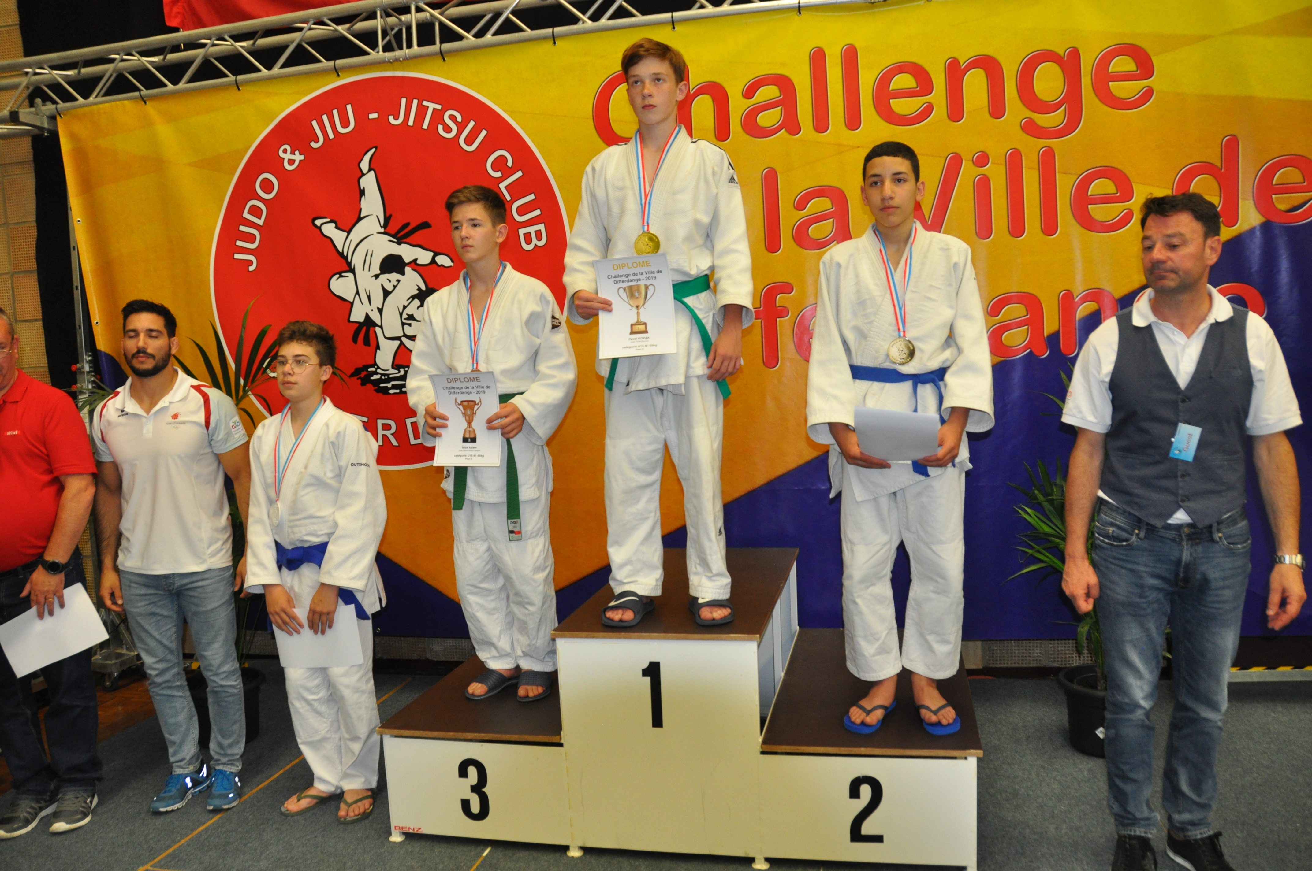 Tournoi international de Differdange: Qassim médaille d'argent !