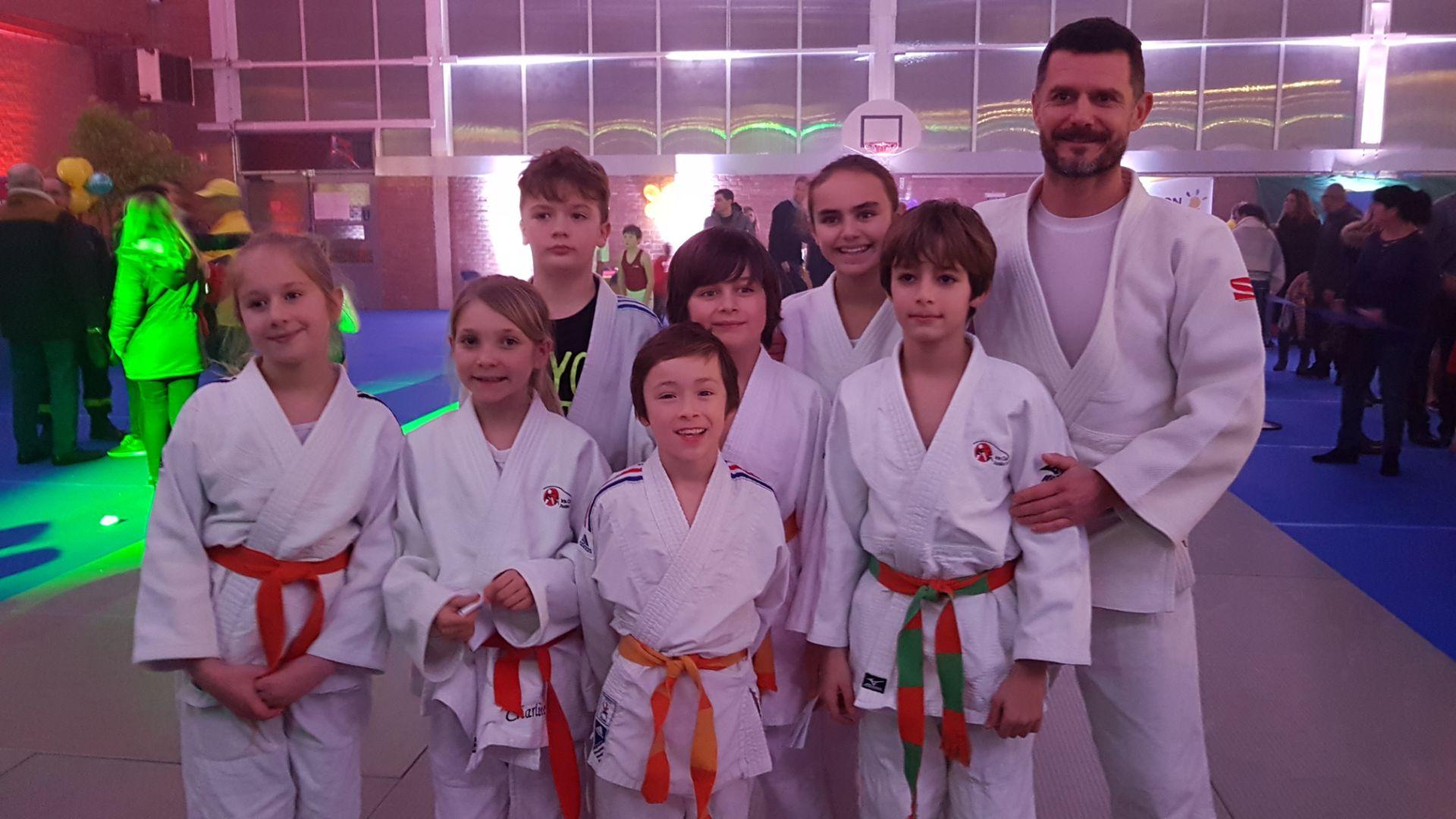 Téléthon 2019: Super ambiance à la battle Gym/Judo