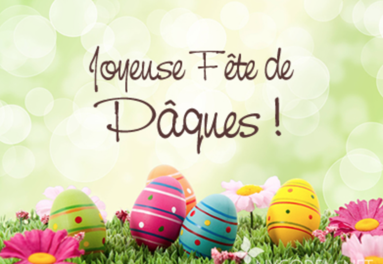 Bon week-end de Pâques